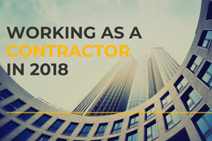 Working as a Contractor in 2018