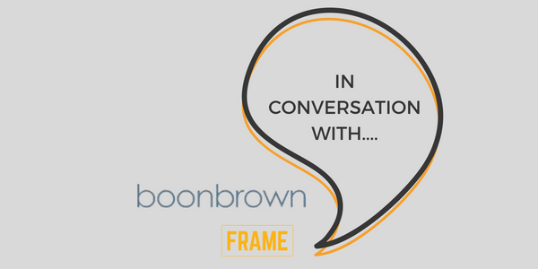In Conversation With Boonbrown